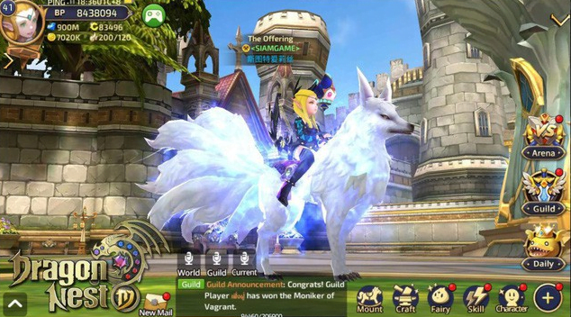 giftcode dragon nest
