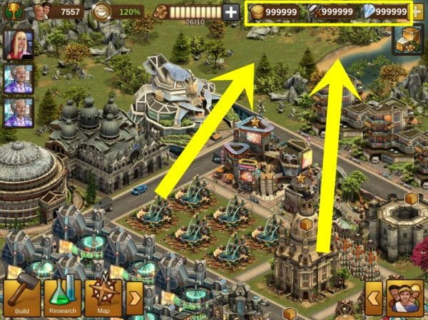 Apk của Forge of Empires