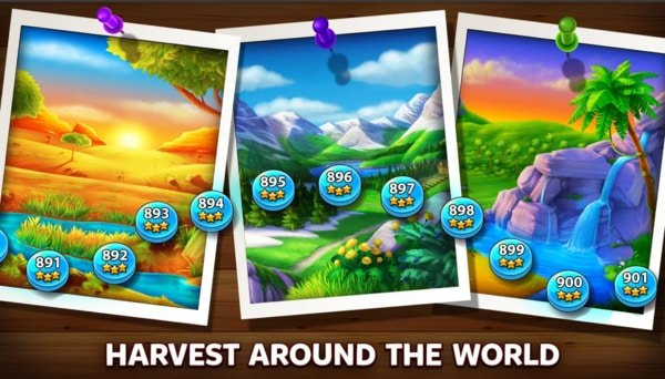 Solitaire Grand Harvest mod ios