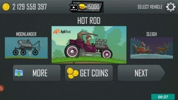 Hill Climb Racing mod ios