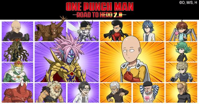 One Punch Man Road To Hero 2.0 gift code