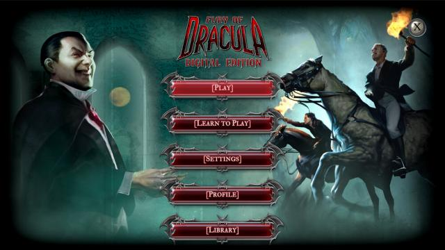 giftcode Fury of Dracula: Digital Edition