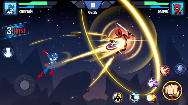GiftCode Stickman Super Heroes – Stick Battle Arena Fight